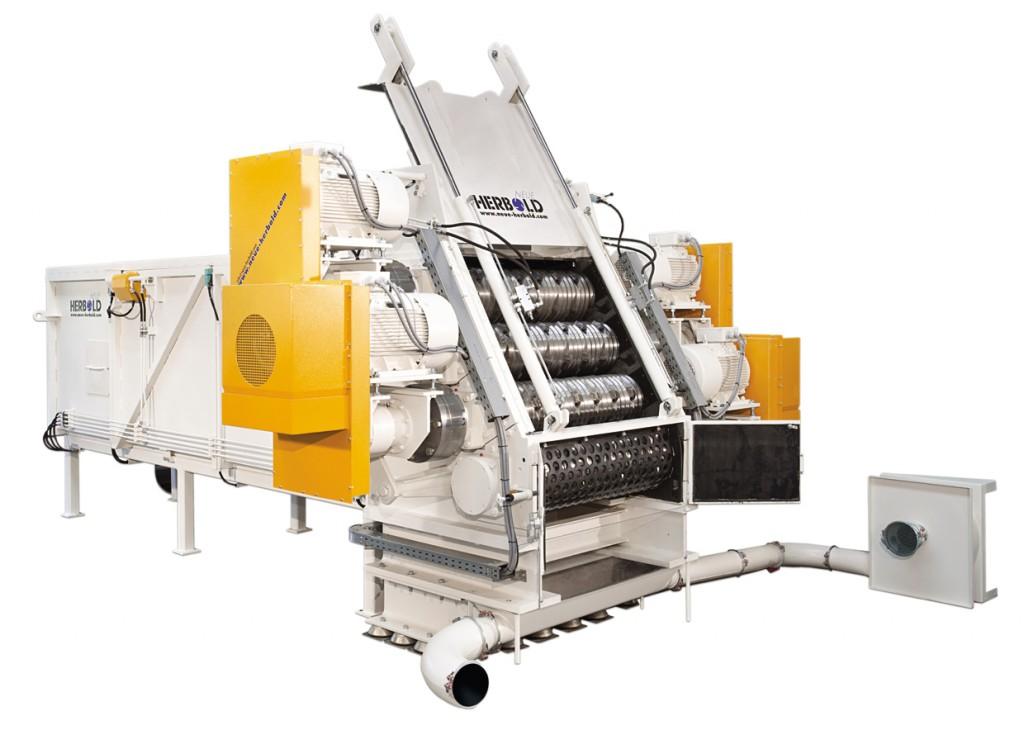 Rohrschredder HZR 1300/4