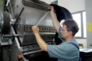 Reparaturen von Recyclinganlagen und Schneidmühlen